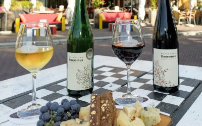 (Biologische) witte en rode wijn van Ron Langeveld